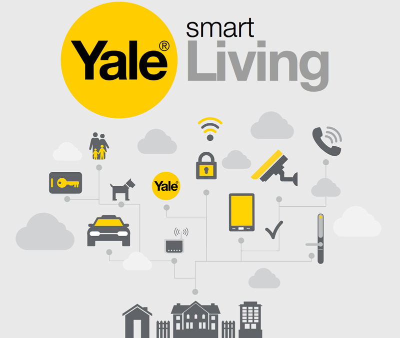 smart home security yale rocks locks